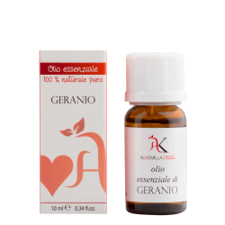 Organic Geranium Essential Oil 10 ml - Alkemilla
