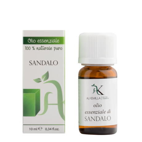 Organic Sandalwood Essential Oil 10 ml - Alkemilla