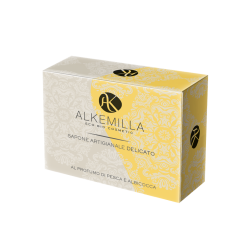 Delicate Soap with Peach and Apricot Fragrance -Alkemilla