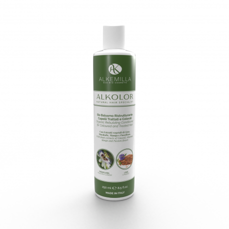 Organic Rebuilding Conditioner for Coloured and Treated Hair - Alkemilla