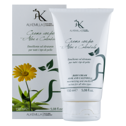 Body cream aloe and calendula
