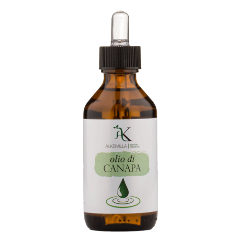 Organic Hemp Vegetable Oil - Alkemilla