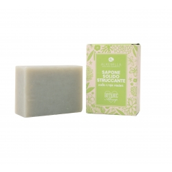 Make-up removal Soap with Apple and Dog Rose Fragrance