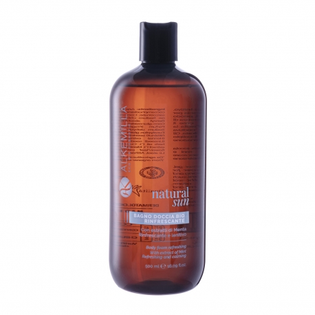 Body Foam Refreshing With Extracted of Mint